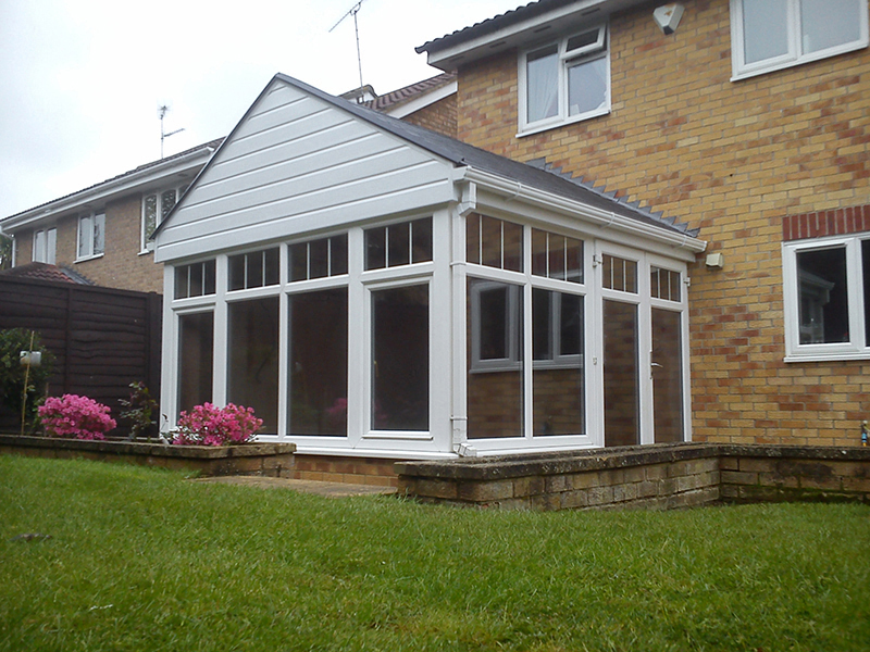 Gable conservatory roof - Conservatory Roofing UK